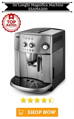 De'Longhi Magnifica Bean to Cup Coffee Machine ESAM4200