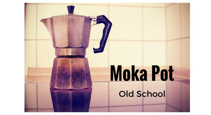 Old school moka pot
