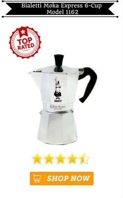 Bialetti Moka Express 6-Cup Model 1162